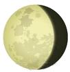 Luna calante gibbosa