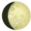 Luna crescente gibbosa