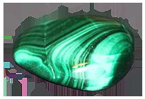 Le pietre zodiacali del Sagittario - la Malachite