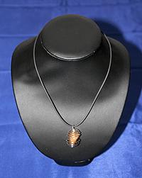 Ciondolo Avventurina rossa spir - Scorpione
