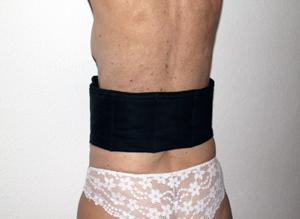 Cintura protettiva lombare shungite