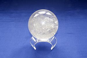 Sfera Cristallo di rocca - Leone
