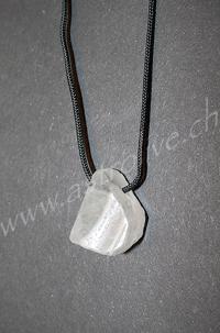 Ciondolo Cristallo di rocca grezzo - Leone
