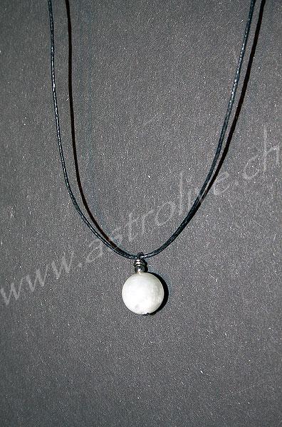 Ciondolo Pietra di luna tondo - Cancro