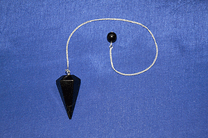 Pendolo in shungite