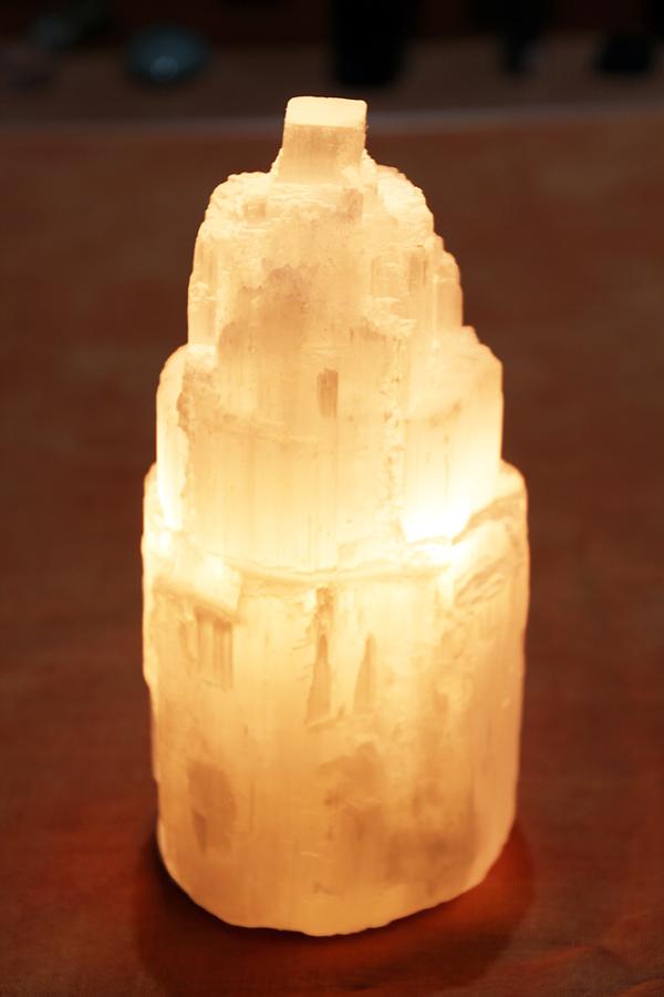 Lampada Selenite