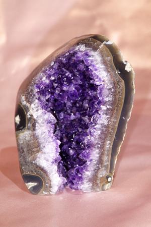 Geode di Ametista con agata