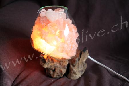 Lampada sale vetro legno 15