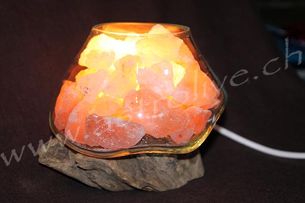 Lampada sale vetro legno 16