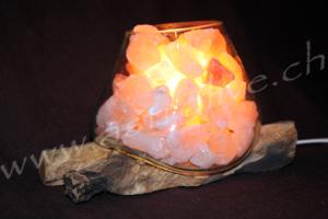 Lampada sale vetro legno 19